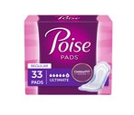 Poise Regular Length Ultimate Absorbency Pads