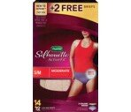 Depend Silhouette Active Fit Moderate Absorbency S/M, 12CT