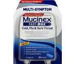 Mucinex Fast-Max Multi-Symptom Cold, Flu & Sore Throat Caplets