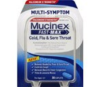 Mucinex Fast-Max Maximum Strength Cold, Flu & Sore Throat Caplets
