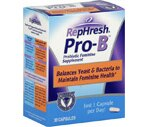 RepHresh Pro-B Vaginal Probiotic Feminine Supplement