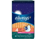 Always Fresh Pads Ultra Thin Overnight Flexi-Wings
