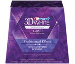 Crest 3D White Whitestrips With Advanced Seal Professional Effects Enamel Safe Dental Whitening