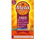 Metamucil Fiber Singles Sugar-Free Take-Along Powder Packets Orange