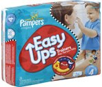 Pampers Easy Ups Trainers Boys Size 4 (16-34 lbs)