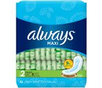 Always Maxi Pads Long-Super for Heavy Absorbency