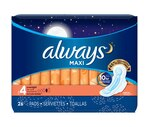 Always Maxi Pads Overnight Flexi-Wings