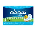 Always Maxi Pads Super Long Flexi-Wings