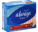 Always Maxi Pads Maximum Protection Flexi-Wings