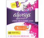 Always Dri-Liners OdorLock Extra Long Size 14+ Double Pack