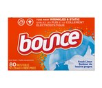 Bounce Fabric Softener Sheets, Fresh Linen Scent