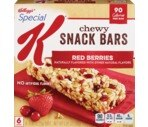 Kellogg's Special K Bars Red Berries