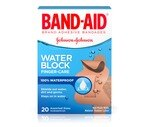 Band-Aid Bandages Finger-Care Water Block Plus Assorted Sizes