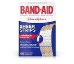 Band-Aid Bandages Sheer Strip All One Size