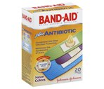 Band-Aid Adhesive Bandages Plus Antibiotic Assorted Neon Colors
