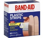 Band-Aid Bandages Comfort-Flex Plastic All One Size