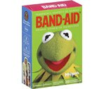 Band-Aid Adhesive Bandages Muppet Design