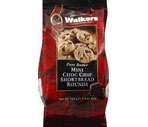 Walkers Pure Butter Shortbread Mini Rounds Choc Chip 4.4 OZ, 6CT