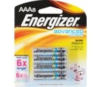 Energizer Advanced Lithium Batteries AAA8
