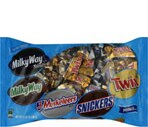 Minis Mix Candy Bars