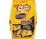 Snickers and M&Ms Peanut Lovers Assorted Candy Fun Size