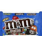 M&M's Pretzel Chocolate Candies Large Bag