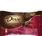 Dove Silky Smooth Promises Raspberry & Dark Chocolate Swirl Chocolates