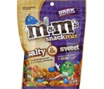 M&M's Snack Mix Salty & Sweet Dark Chocolate