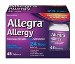 Allegra Allergy Indoor & Outdoor Allergies 24 Hour Tablets