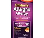 Children's Allegra Allergy Indoor & Outdoor Allergies 12 Hour Orally Disintegrating Tablets