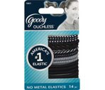 Goody Ouchless Assorted Black Design Elastics
