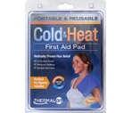 Thermal On Portable & Reusable Cold & Heat First Aid Pad Large