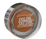 Maybelline Color Tattoo by Eyestudio Eyeshadow, Fierce & Tangy 10