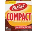 Boost Compact Complete Nutritional Drink Rich Chocolate, 4 OZ