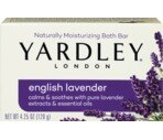 Yardley Naturally Moisturizing Bar English Lavender