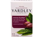 Yardley London Naturally Moisturizing Bath Bar, Cocoa Butter