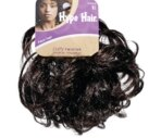 Scunci Hype Hair Curly Hair Twister Brown