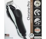 Wahl Chrome Pro Complete Haircutting Kit with 24 Pieces