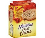 Nabisco Newtons Fruit Thins Cranberry Citrus Oat