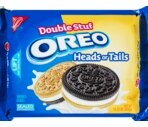 Nabisco Oreo Heads or Tails Double Stuf Sandwich Cookies
