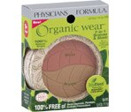 Physicians Formula Organic Wear 2-In-1 Bronzer & Blush Light Bronzer/Pink Rose 1059