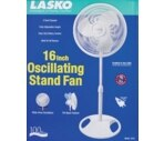 Lasko 16 Inch Oscillating Stand Fan