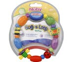 Nuby Luv n' Care Bug-a-Loop Teether 3M+