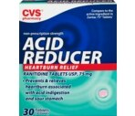 CVS Acid Reducer Tablets 75mg