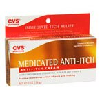 CVS Medicated Anti-Itch Cream