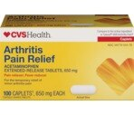 CVS Arthritis Pain Relief Extended Release Tablets 650 mg