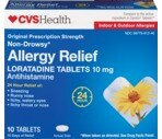 CVS Allergy Relief Tablets 24 Hour Non-Drowsy