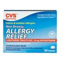 CVS Allergy Relief 10 Mg Tablets Non-Drowsy