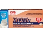 CVS Adult Low Strength Pain Reliever (NSAID) Coated Tablets 81 mg