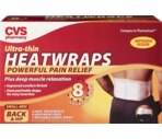 CVS Back & Hip Heatwraps Small-Medium